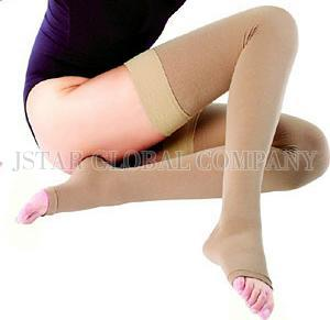 3ac91a9dd71497 Taiwan Medical Compression Socks-Thigh High Stocking Open Toe ...