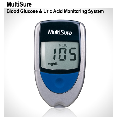 MultiSure Blood Glucose and Uric Acid Monitoring System