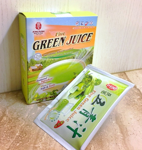 Five Green Juice, powdered, healthy, cooling(pack of 3)