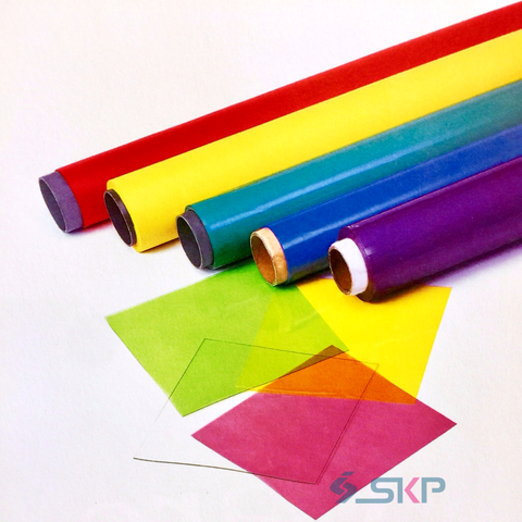 Taiwan Transparent Colored Plastic Sheets - PVC - Translucent Finish ...
