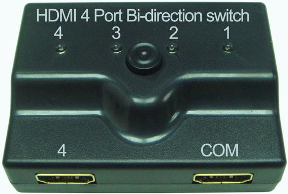 Taiwan HDMI 4 Ports Bi-direction manual switch , HDMI Switch