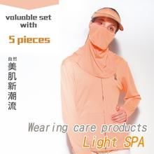 Epurifys-Light SPA /UV UPF50+Wearing care products orange