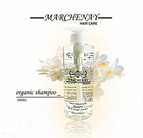 【MARCHENAY】Organic shampoo 500ML(slow hair loss)