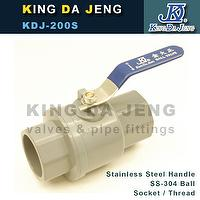 Stainless Steel Handle Ball Valves (SS-304 ball)