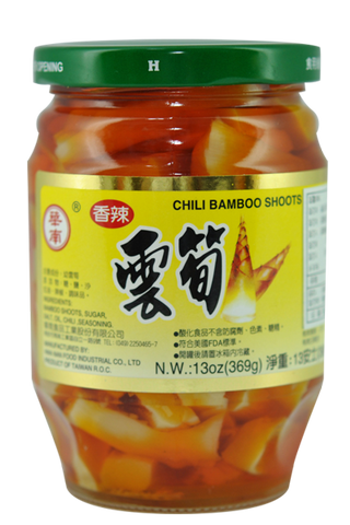 CHILI BAMBOO SHOOTS,agricultural foods canned vegetable,
