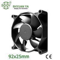 92*92*25mm ce dc blade axial flow fan motor