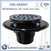 Low Profile Shower Pan Drain - Plastic Rim: ABS