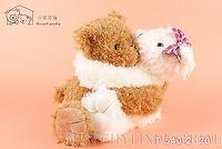 White/Pink Teddy Bear