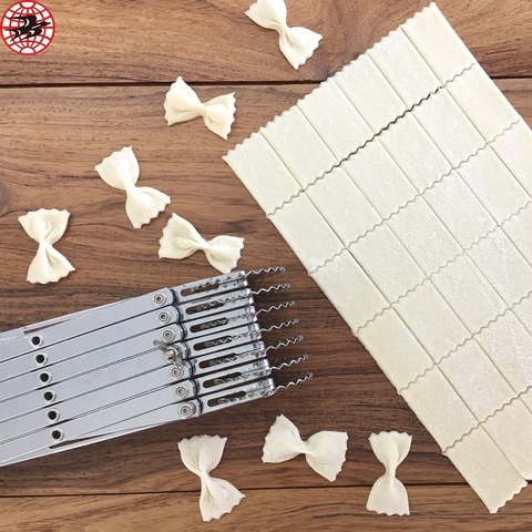Multi-functional Kitchen Smallware Tools Baking Supplies Pappardelle Pasta Cutter Adjustable Dough Divider