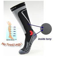 Sports Compression Terry Knee Highs 23-32mmHg 78014