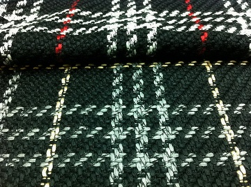 BOUCLE Y/D CHECK FABRIC