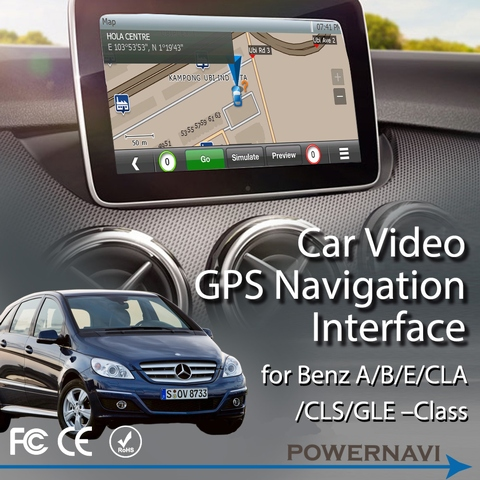 Mercedes-Benz Navigation Interfaces