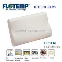 Pillow with Ice Temperature Sensitive Foam Flotemp HCP61M