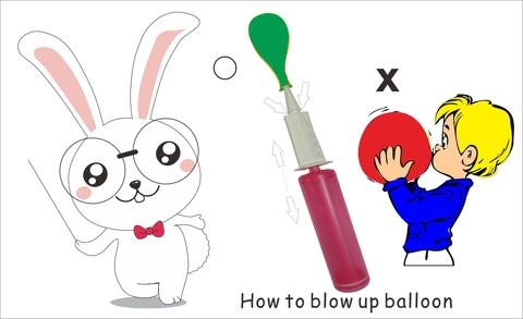 pompa udara balon Inflatable
