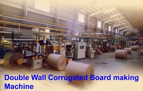 Taiwan Corrugated Cardboard plant and Flexo Printer Folder Gluer for