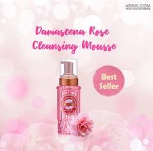 Damascena Rose Whitening Cleansing Mousse 〔Upgraded Version〕