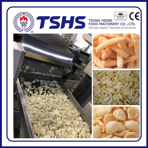 Professional Fried Snack pellet Making Machine with CE approved