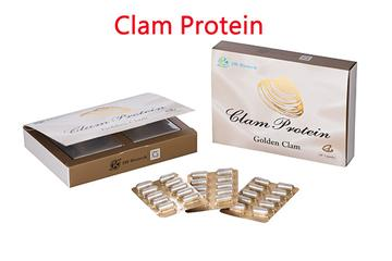 Golden Clam Health Supplements with Rich Protein Content