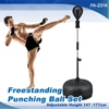 Freestanding punching ball set