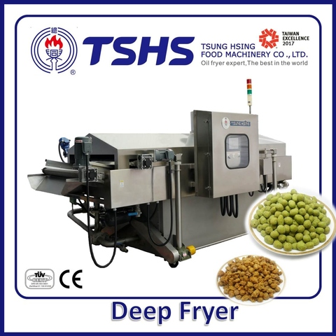 High Efficiency Energy Chips Gas Fryer Machine