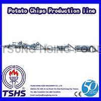 2014 Latest Continuity Stable Industry Potato Chips Frying Equipment