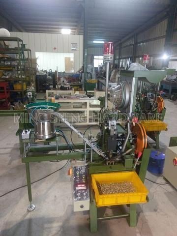 Metal Button (Snap Fastener) Automatic Binding Machine