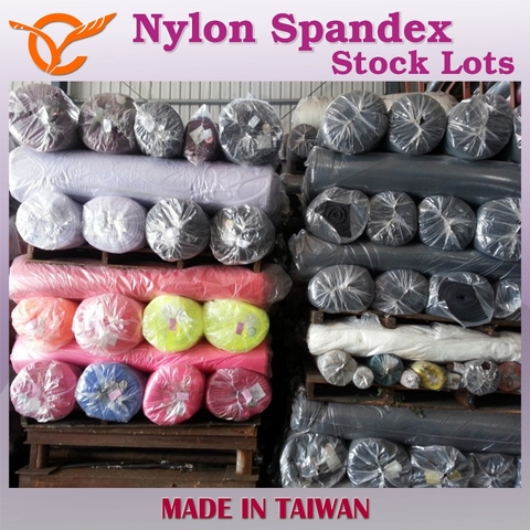 Taiwan Wholesale Rib Cotton Nylon Spandex Blend Knitted