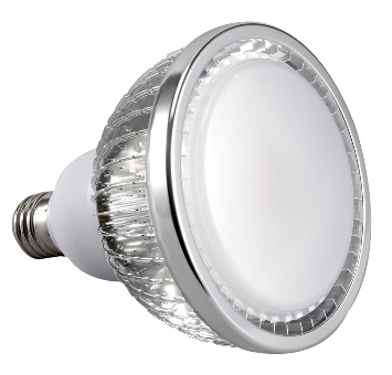 30W Dimmable PAR38 LED Lamp (Cree COB cool white 110D)