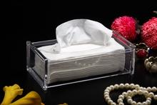 Strong Acrylic Clear Tissue Box