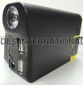 Multi-Functional & Portable Jump Starter Power Bank