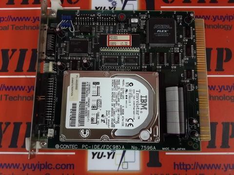 CONTEC PC-IDE/FD(98)A NO.7596A & IBM DJSA-2