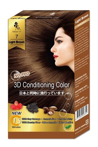 3D Conditioning Color- Light Brown