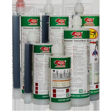 ケミカルアンカー/化学モルタル/化学薬品注入/注入カートリッジ/注入モルタル/樹脂ボルト/接着剤をモルタル