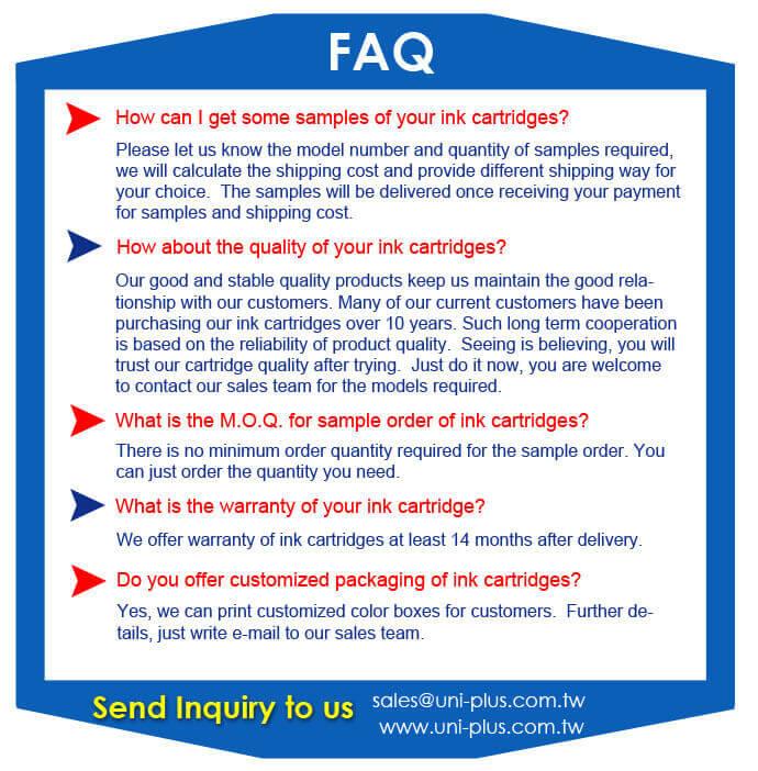 ink cartridge-FAQ