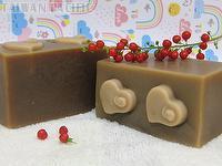 moisturizing handmade soap-Red wine