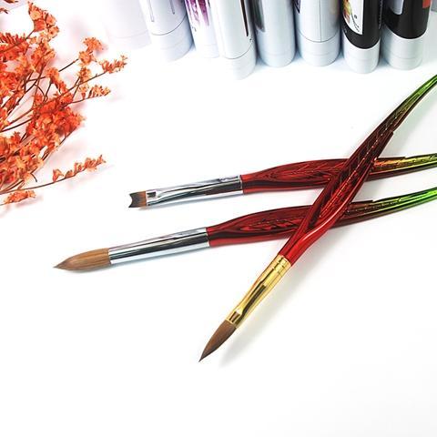 kolinsky hair acrylic nail art brush