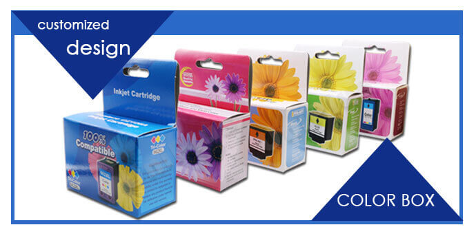 ink cartridge-color box