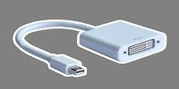 Mini DisplayPort  to DVI Converter