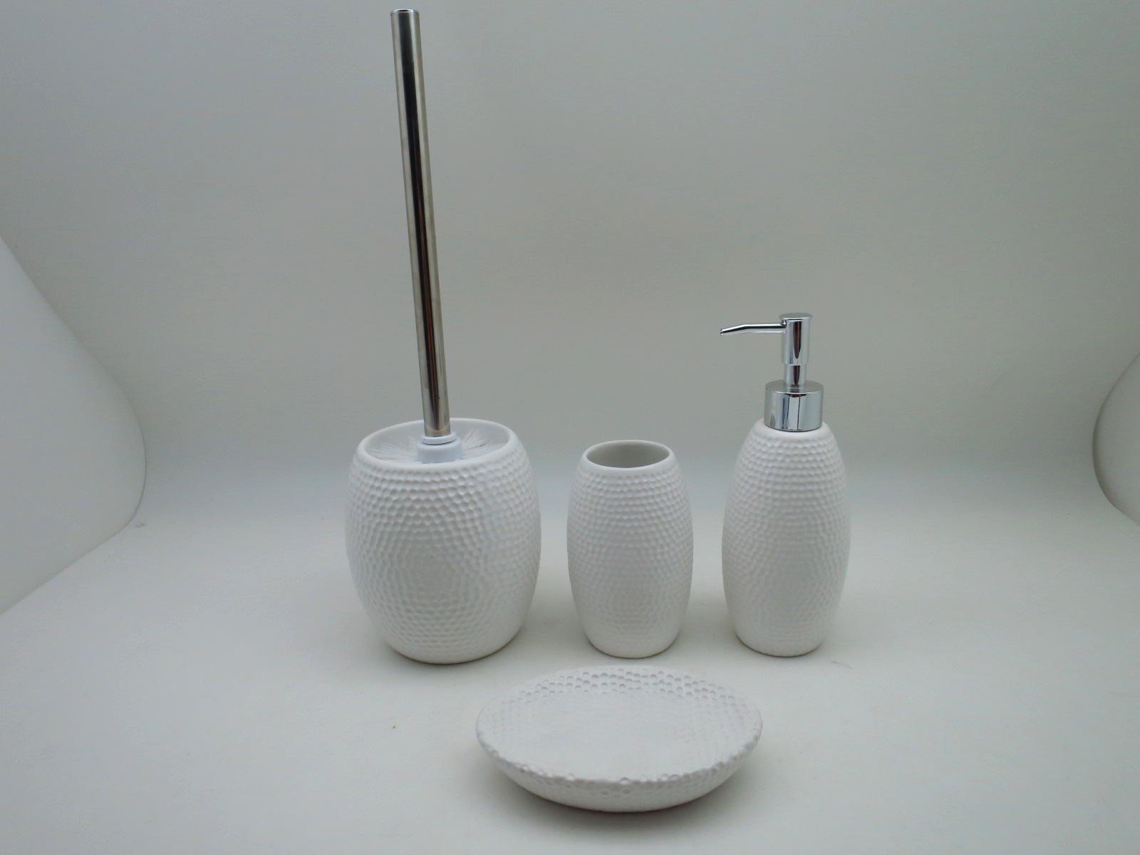 Taiwan Golf Surface Taper Shape Cermaic Bathroom Set AZUDA - Golf bathroom accessories