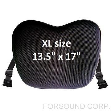 JUSIT GEL SEAT CUSHION FOR MOTORCYCLES-XL size (Universal Type)