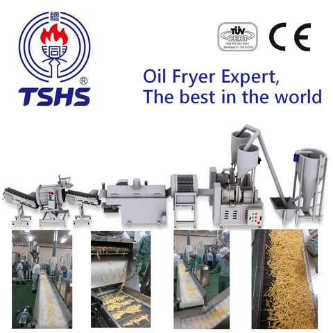 2017 Taiwan Industrial Automatic Cheetos Frying Extruder