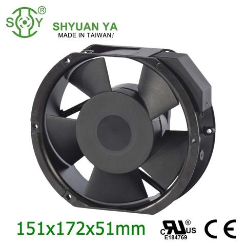 Axial flow fan greenhouse outrunner motor 150mm