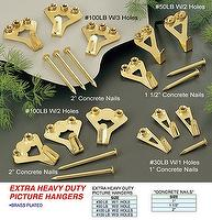 EXTRA HEAVY DUTY PICTURE HANGERS