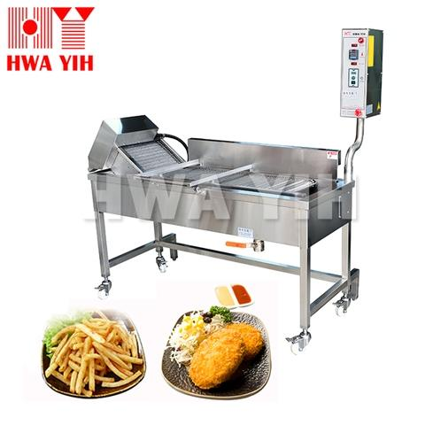 HY-589 Continuous Conveyor Deep Frying Machine