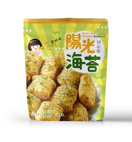 100% Multi Grain Snack seaweed Flavor
