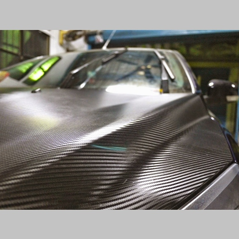 Carbon Fibre Effect Textured Vinyl Wrap Self Adhesive By The Metre