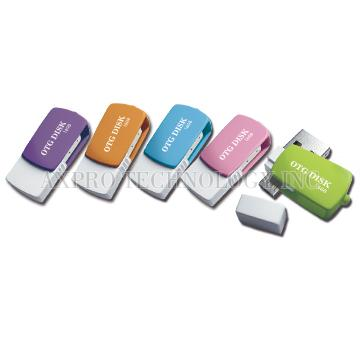 OTG USB 2.0 Flash drive for mobile phone