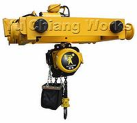 Electric Double-Rail Chain Hoist