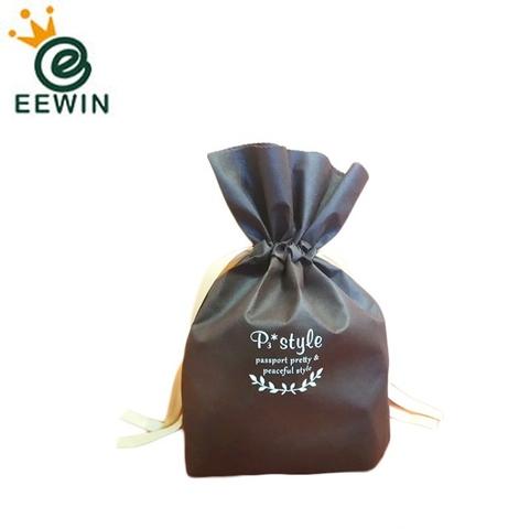 Taiwan Eco Friendly Reusable Non Woven Drawstring Gift Bag Wholesale