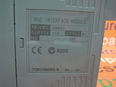 YOKOGAWA SB401-10-S1 BUS INTERFACE MODULE